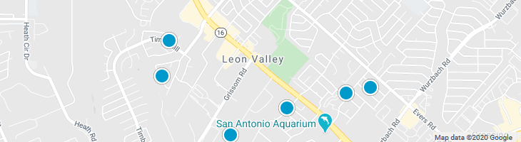 Search By Map : Leon Valley Texas Homes For Sale