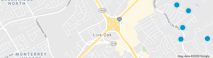 Search By Map : Live Oak Texas Homes For Sale