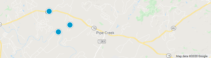 Search By Map : Pipe Creek Texas Homes For Sale