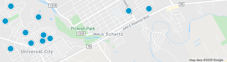 Search By Map : Schertz Texas Homes For Sale