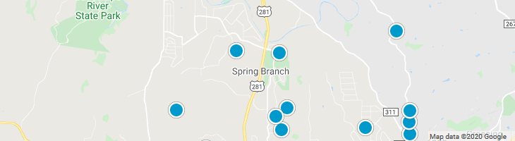 Search By Map : Spring Branch Texas Homes For Sale