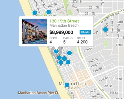 south bay mls map search