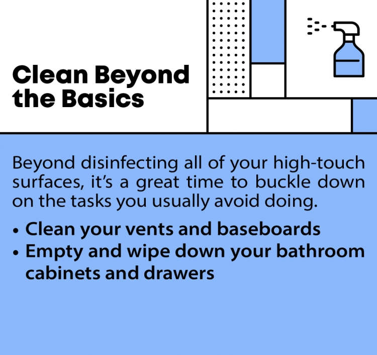 Clean up to sell your home