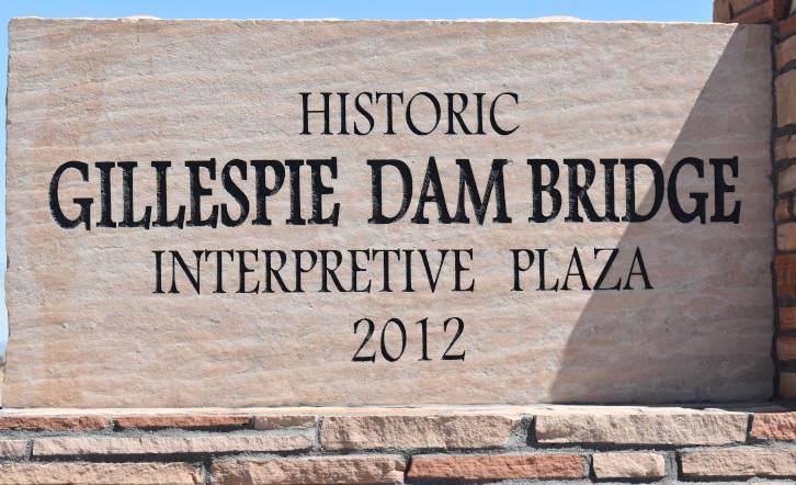 Gillespie Dam Bridge