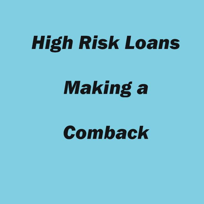 Bad Credit Home Loans - Can Make a Comeback?