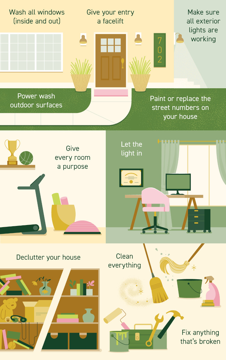 Selling Tips Infographic - Tips Selling Your Home