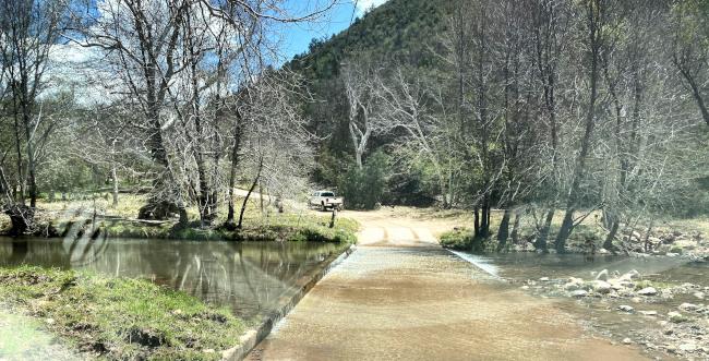 Payson Arizona Trail to home