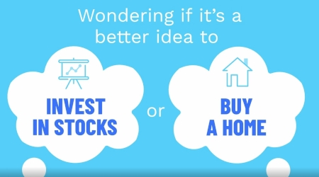 Homes or Stocks for investment