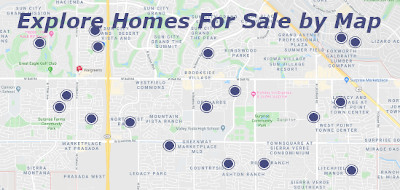 Explore Homes for sale in Surprise AZ by Map