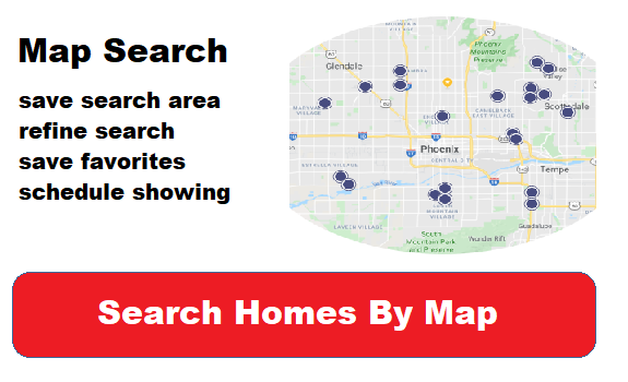 Map Search for homes in Arizona