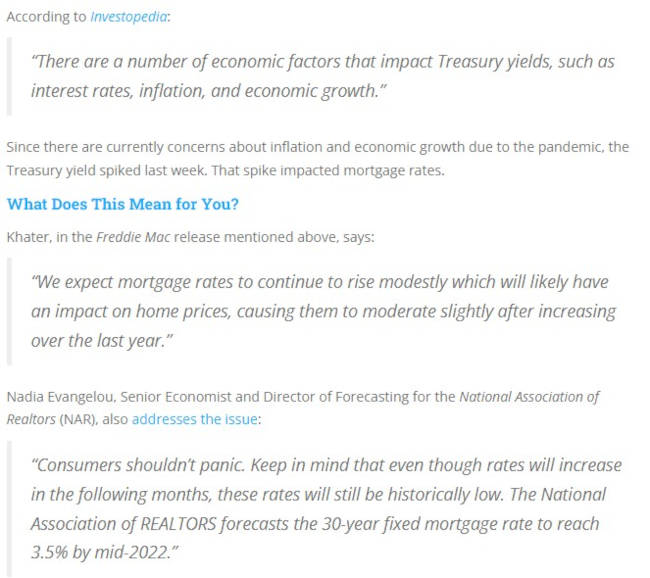 Expert Quotes about Rates