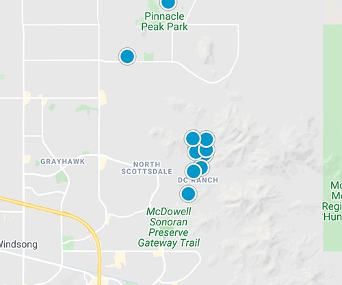 mls map - scottsdale az