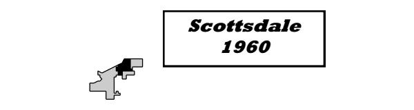 Scottsdale 1960