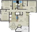 Milano Terrace Scottsdale Floor Plan