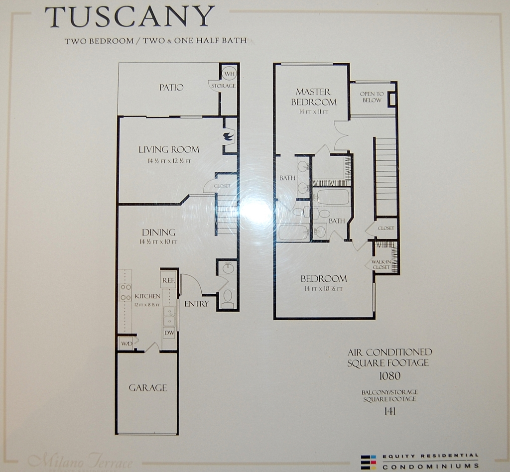 Milano terrace condos for sale for Floor plans real estate