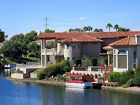 scottsdale waterfront home for sale