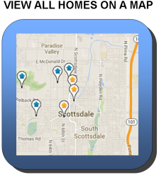 view all scottsdale homes in guard gated communities by location on a map
