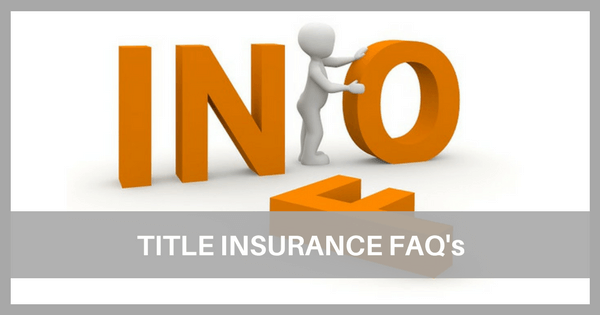 Image of Title Insurance FAQs
