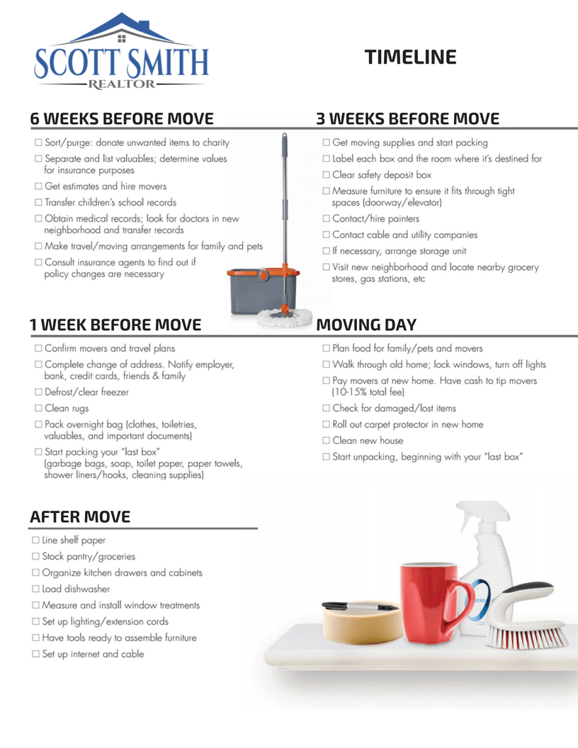 Image of Moving Checklist Page 2
