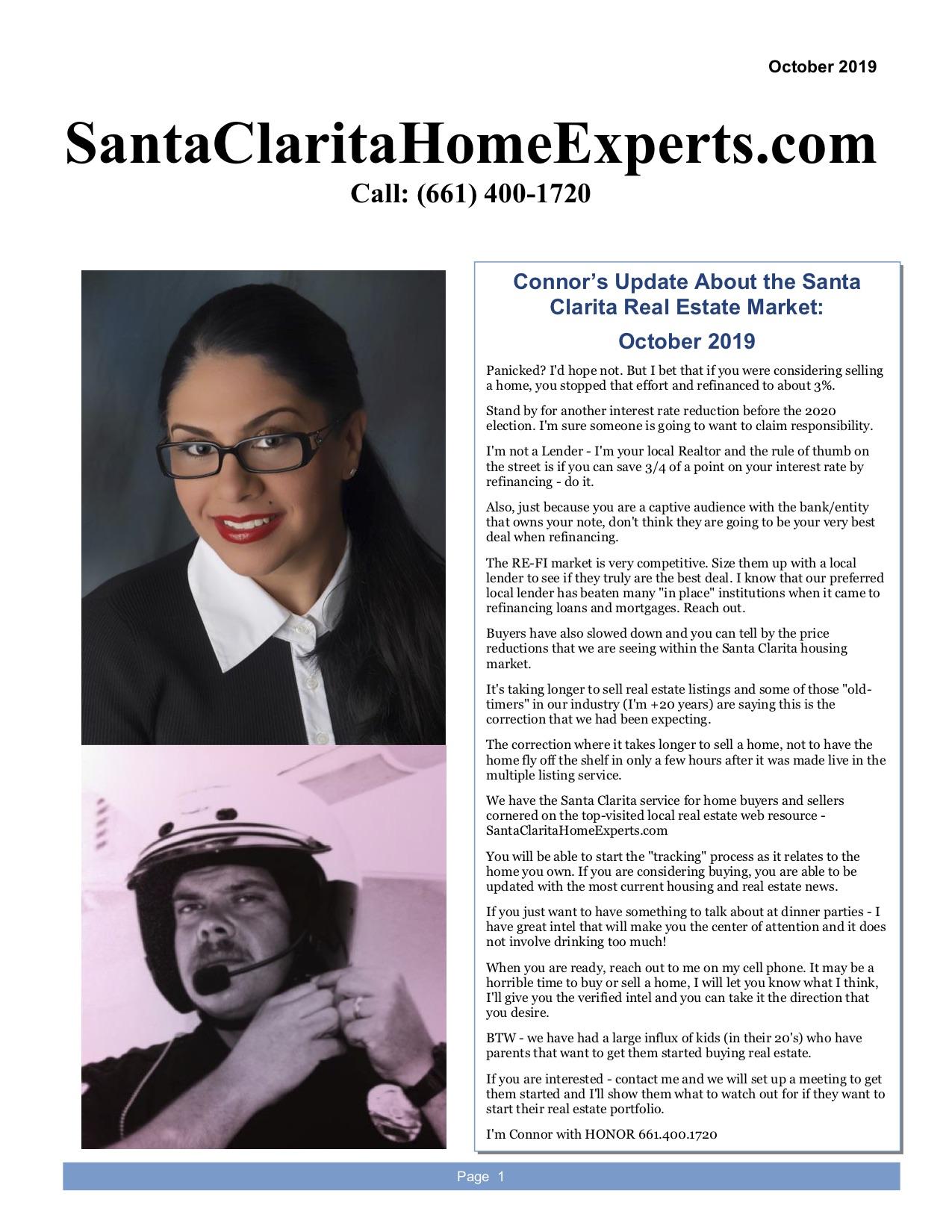 Santa Clarita newsletter