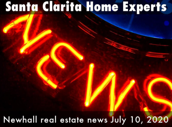 Newhall real estate and housing market news update