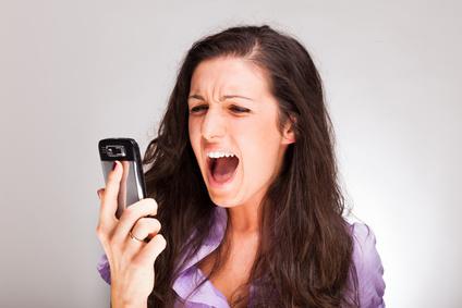 Santa Clarita blog real estate update lady screaming in phone