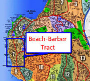 Beach Barber Tract Map