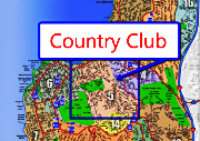Country Club La Jolla Map