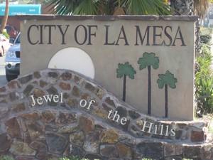 Welcome to La Mesa. Jewel of the Hills