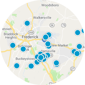 Downtown Frederick Real Estate Map Search