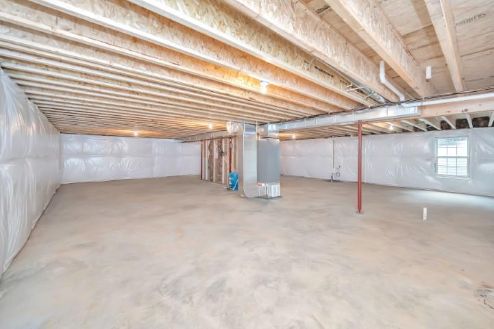 modern basement in Rhoadesville, VA by Realtor Sean Jones