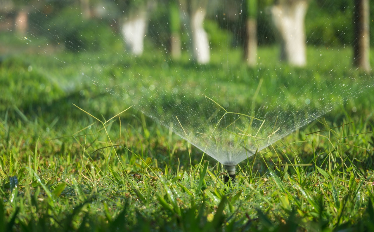 water your lawn in VA