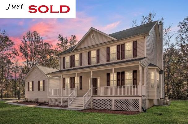 Sold: 8338 Swan Woods Road Rhoadesville, VA 22542
