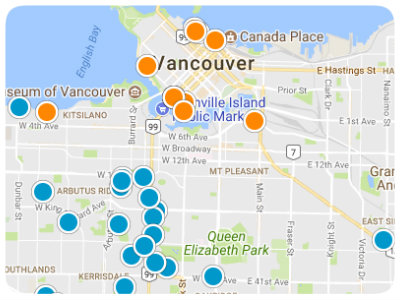 British Columbia Real Estate Map Search