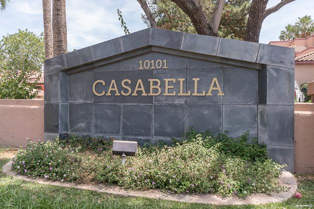 Casabella Condos Scottsdale Entrance