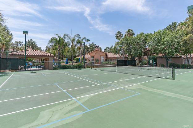 Casabella Condos Scottsdale Tennis Court