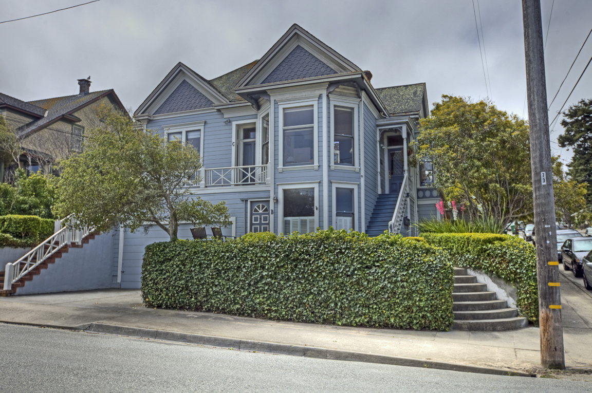 Pacific Grove old retreat victorian home for sale