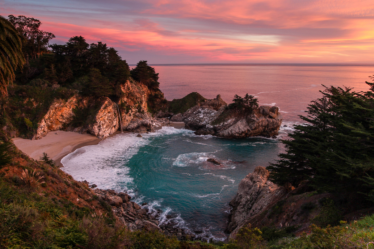 Photo of McWay Falls taken by W Tipton