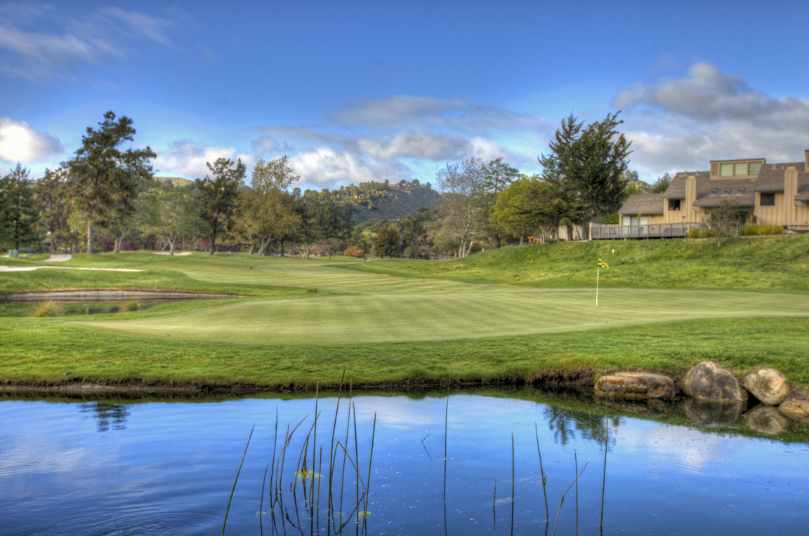 Carmel Valley Ranch's 2nd hole