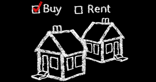 Rent vs Buy Graphic