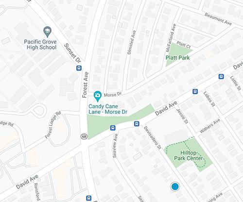pebble beach mls map search