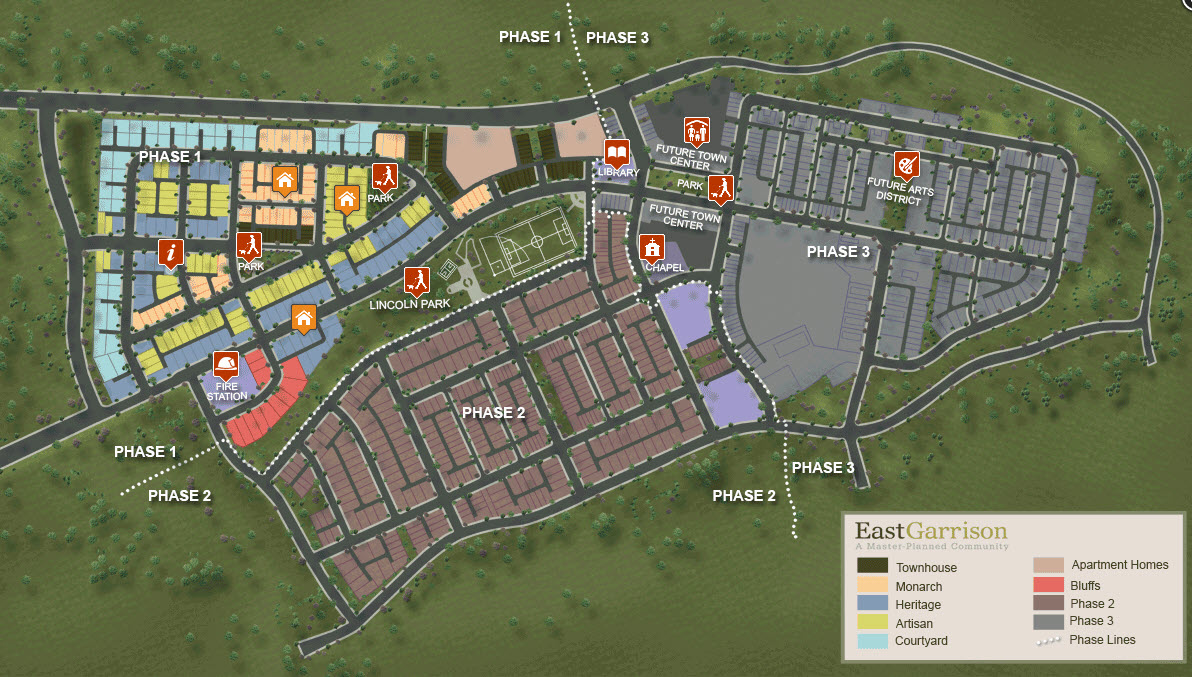 East Garrison planned community master plan