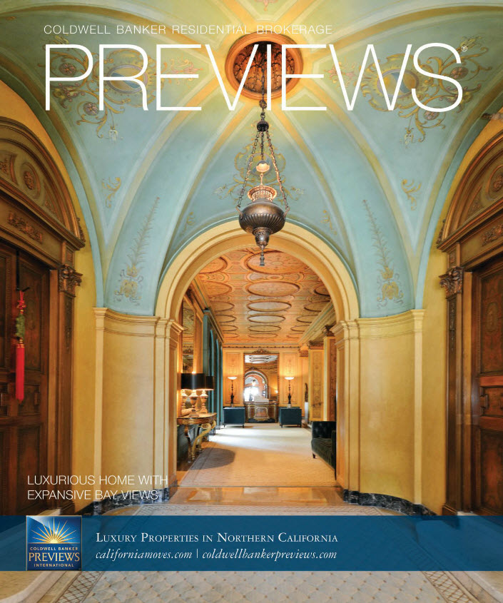 Coldwell Banker Previews Magazine Cover Spring 2014