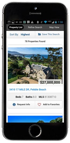 Iphone Real Estate App