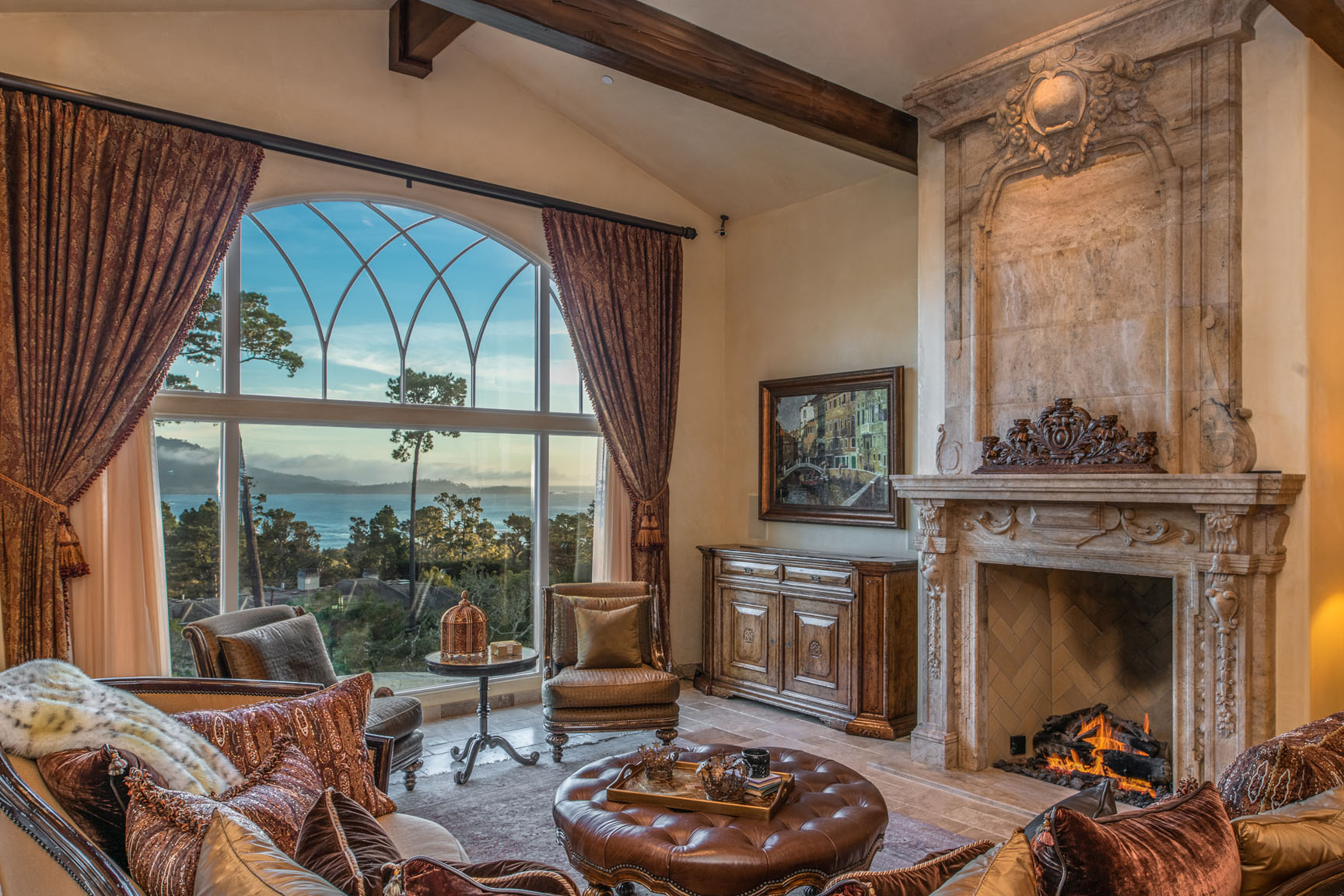 Pebble Beach Luxury Ocean View Home for sale