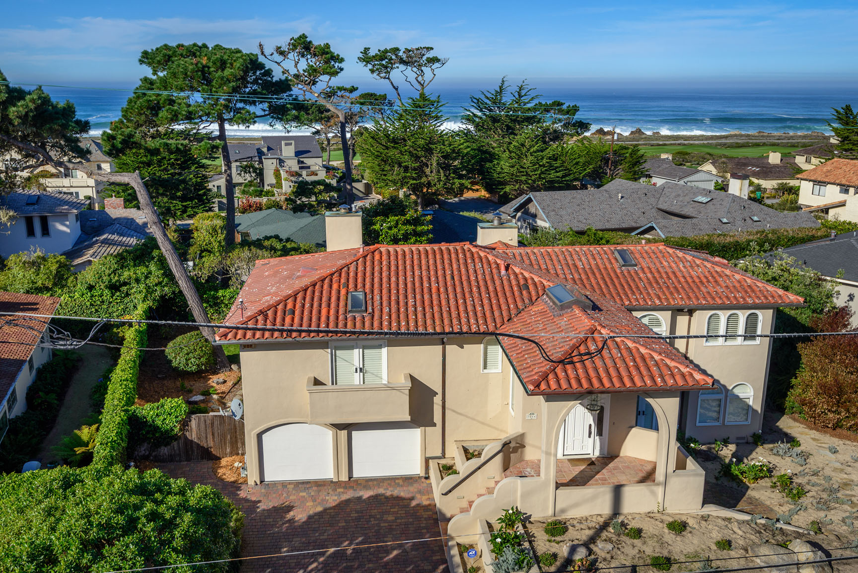 Pebble Beach Ocean View Home for sale