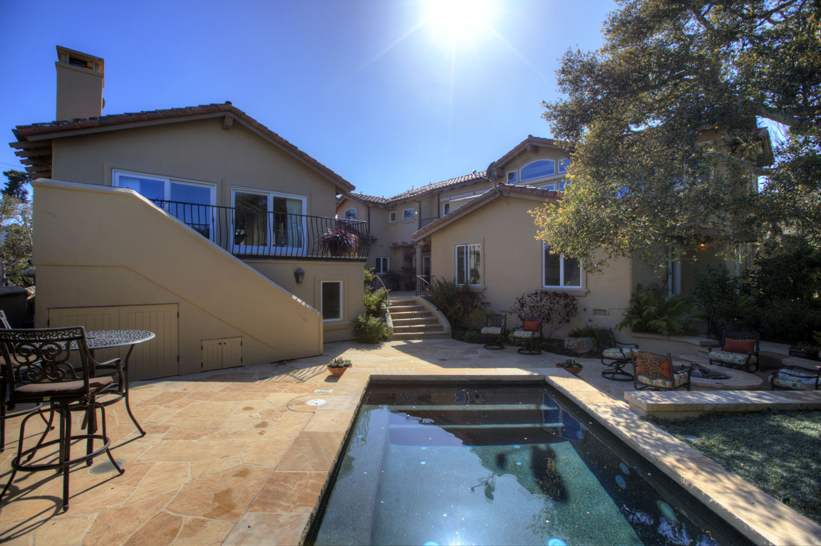 91 Mar Vista Pool and Back yard