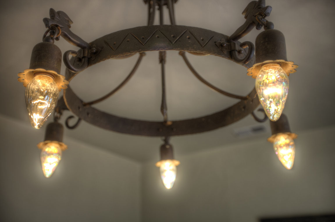 Spanish Colonial light fixture