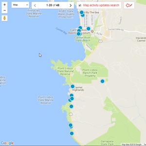 Carmel Real Estate Interactive Map Search