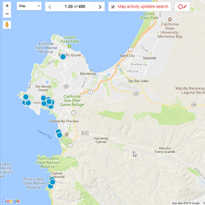 Monterey Real Estate Interactive Map Search